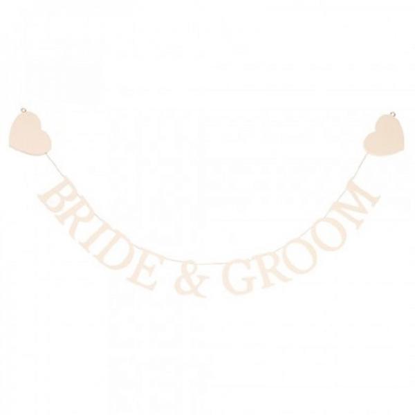Bride & Groom Bunting