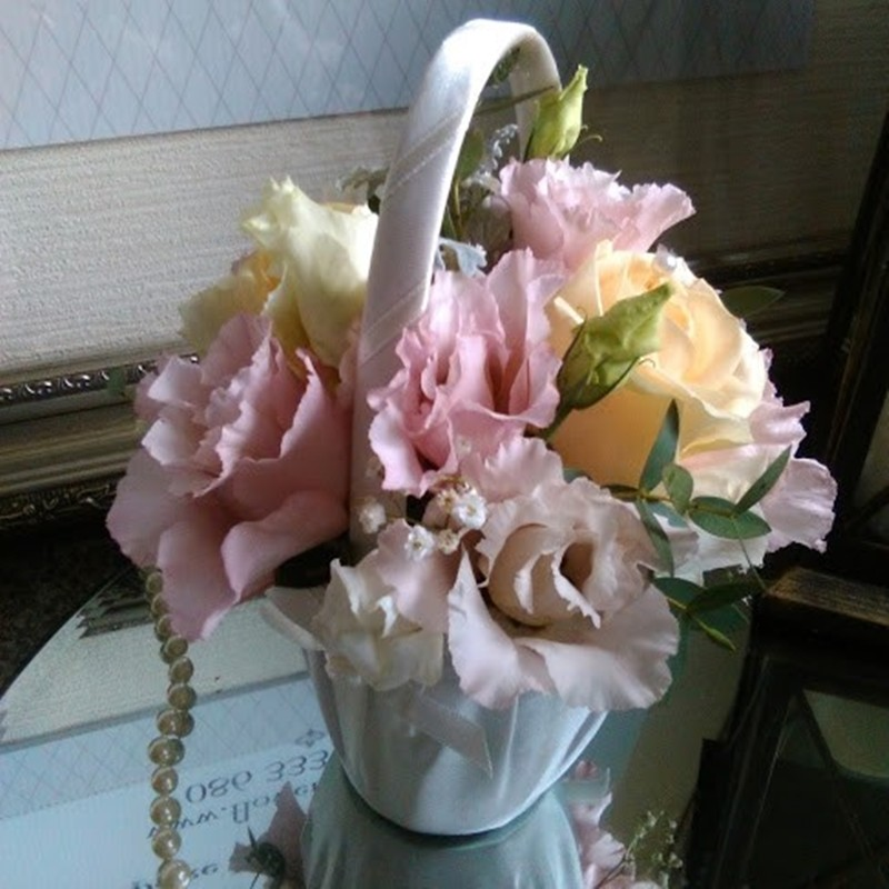 Flowergirl Basket Style 1
