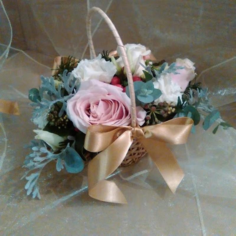 Flowergirl Basket Style 2