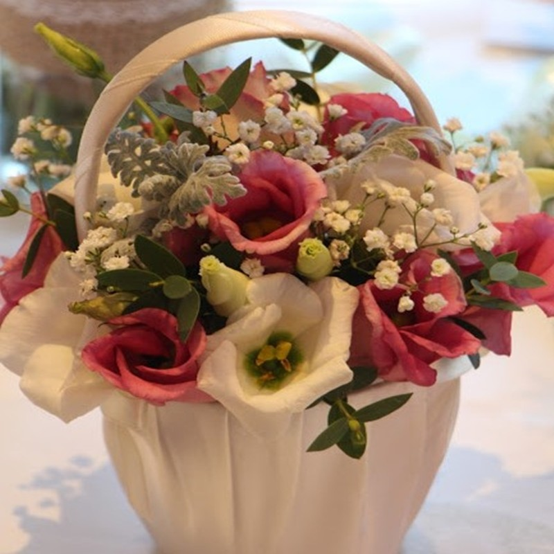 Flowergirl Basket Style 3