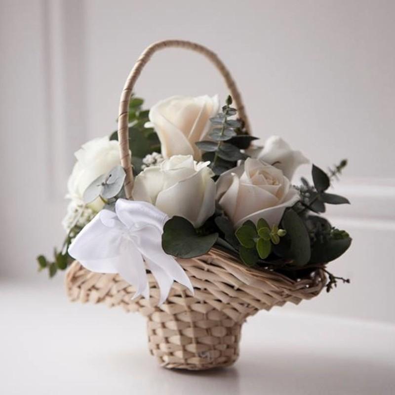 Flowergirl Basket Style 4