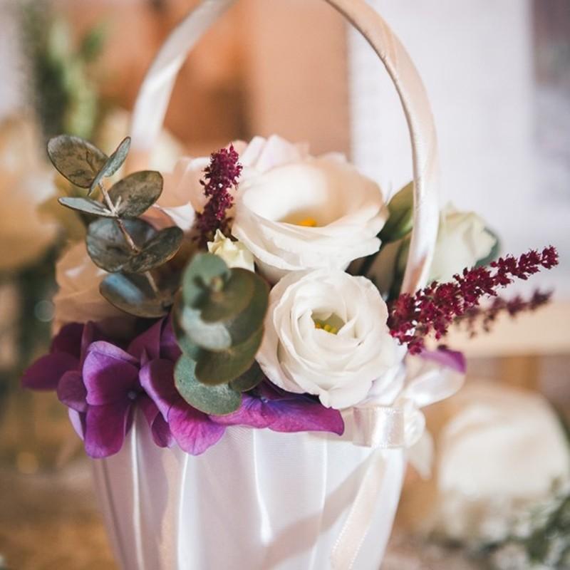 Flowergirl Basket Style 5