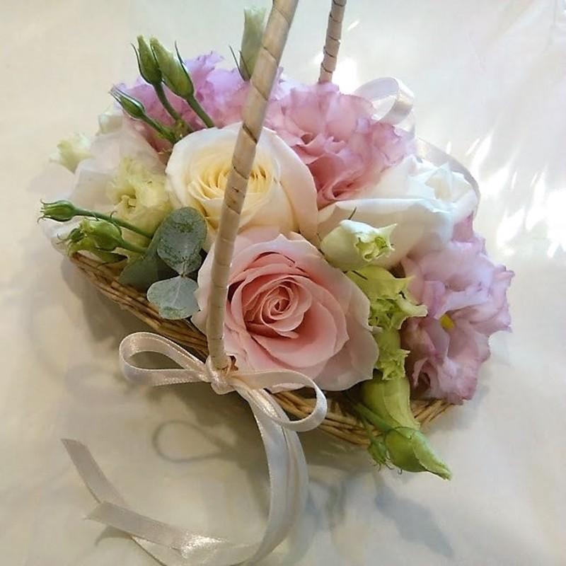 Flowergirl Basket Style 6