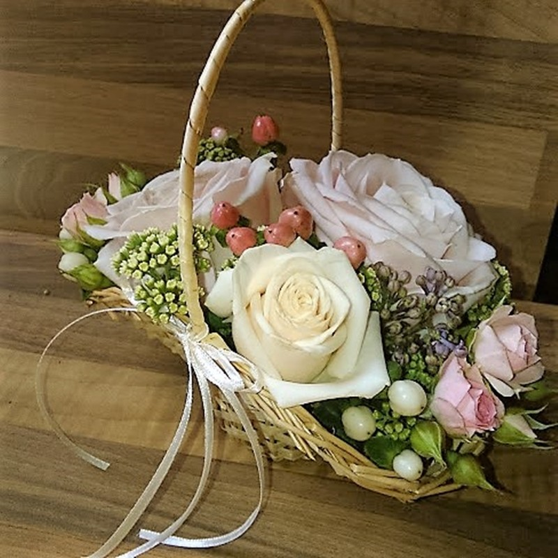 Flowergirl Basket Style 7