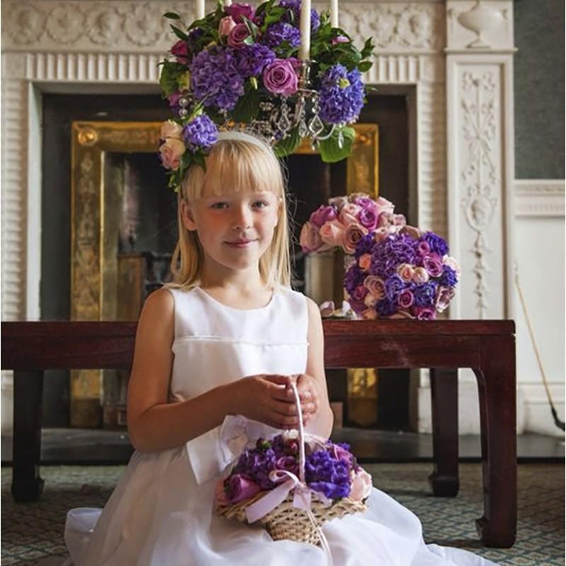 Flowergirl Basket Style 9